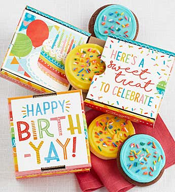 Happy Birth Yay 2 Pack Cookie Card
