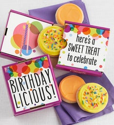 Birthdaylicious 2 Pack Cookie Card