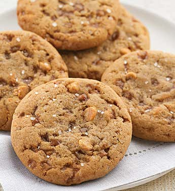 Butterscotch Almond Toffee Cookie Sampler