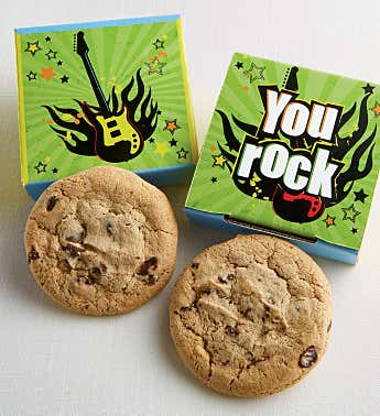 You Rock Cookie Cards - Cases of 24 or 48
