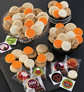 Trick or Treat Cookie and Sticker Kit