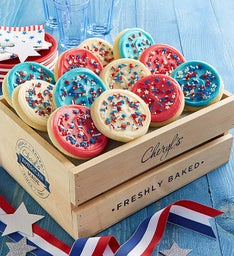 Summertime Crate of Cookies - Frosted