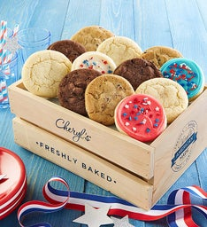 Summertime Crate of Cookies - Create Your Own