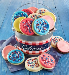 Americana Cookie Pail