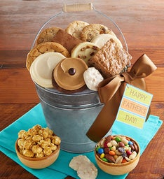 Father's Day Sweet & Salty Treats Pail