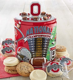 The Ohio State University Champs Cookie Jar