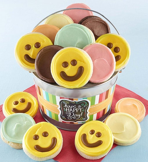 Happy Day Cookie Pail