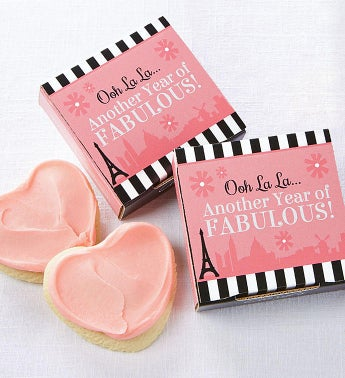 Oh La La Another Year Fabulous Cookie Card