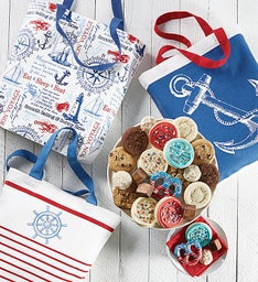 Summer Totes and Treats Cookies