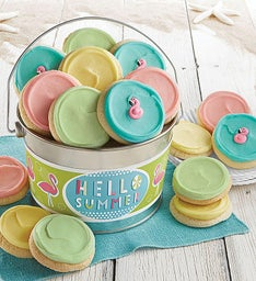 Hello Summer Cookie Pail