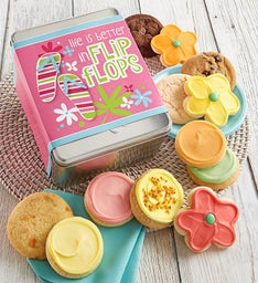 Life is Better in Flip Flops Gift Tin