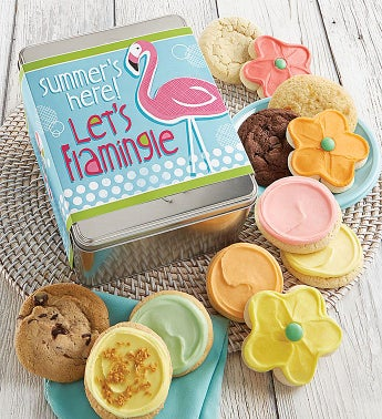 Let's Flamingle Gift Tin