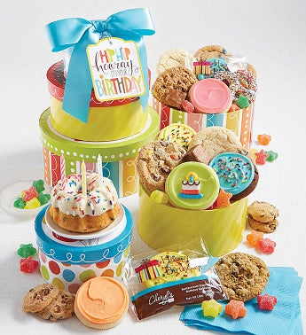 Birthday Party Gift Tower