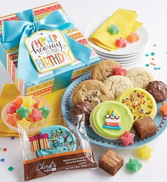 Hip Hip Hooray Birthday Treats Box
