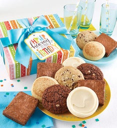 Gluten Free Birthday Cookie & Brownie Gift Boxes