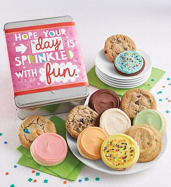 Hope Your Day is Sprinkled with Fun Gift Tin