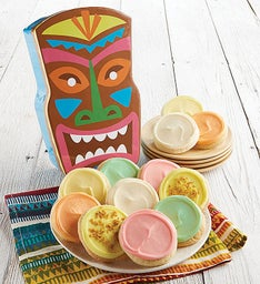 Tiki Head Treats Gift Box