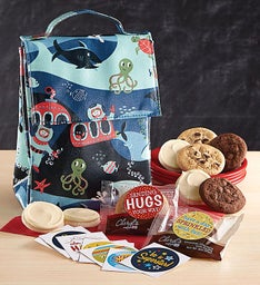 Ocean Life Lunch Tote