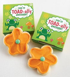 Create Your Own Toadally Awesome Cookie Card