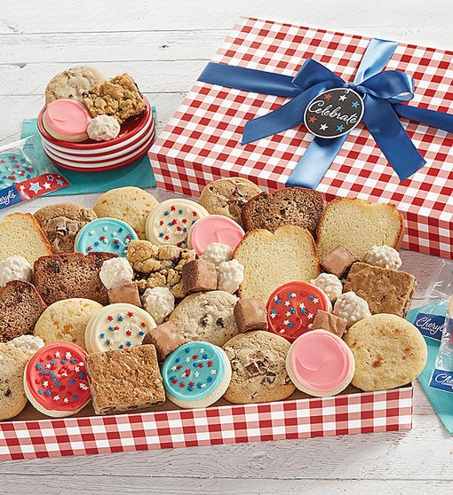 Red White and Blue Bakery Assortment