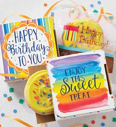 Create Your Own Birthday Cookie Card