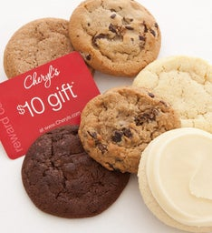 Deals on Cheryls Cookie Sampler + $10 Reward Card