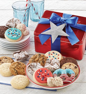 Patriotic Treats Gift Tin