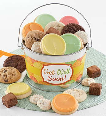Get Well Soon Treats Pail
