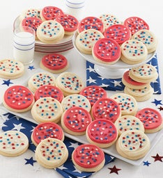 Buttercream Frosted Patriotic Cut-outs