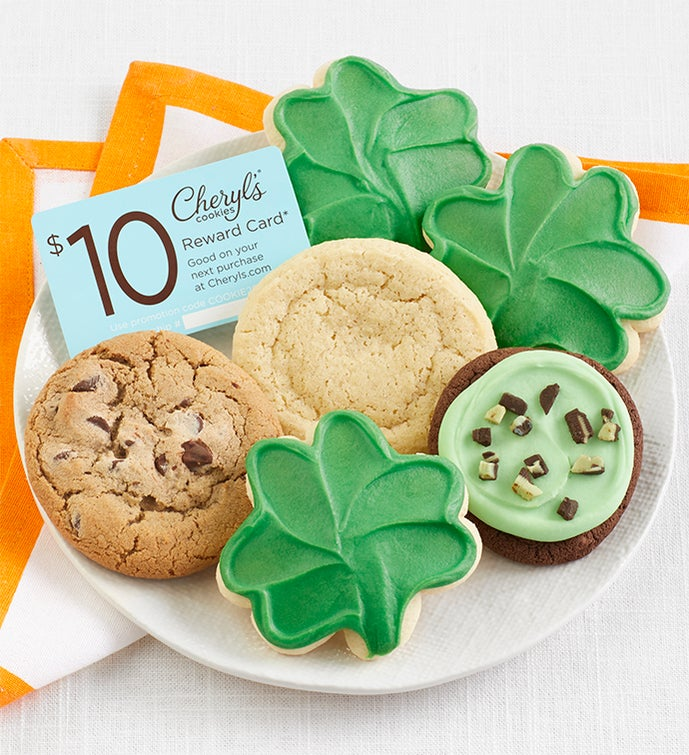 St Patrick's Day Cookie Sampler