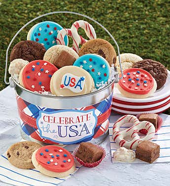 Celebrate the USA Treats Pail
