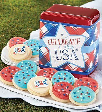Celebrate the USA Gift Tin