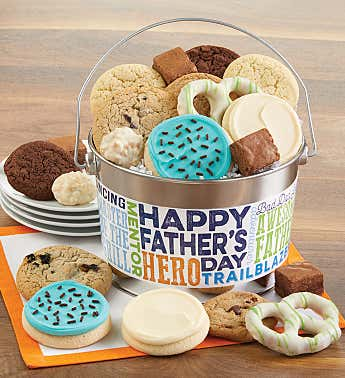 Happy Father's Day Treats Pail