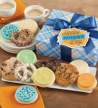 Father's Day Cookies and Pretzels