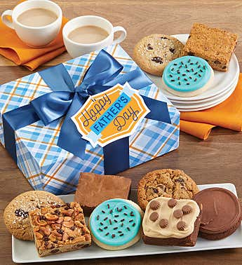 Father's Day Cookie and Brownie Gift Box
