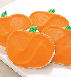 FROSTED PUMPKIN CUTOUT