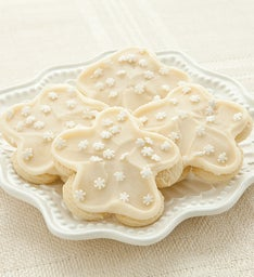 FROSTED SNOWFLAKE CUTOUT