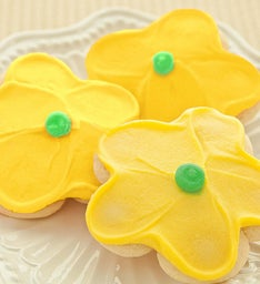 YELLOW FLOWER CUT-OUT