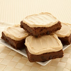 FROSTED PEANUT BUTTER FUDGE