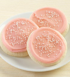 BUTTERCREAM FROSTED CHAMPAGNE COOKIE