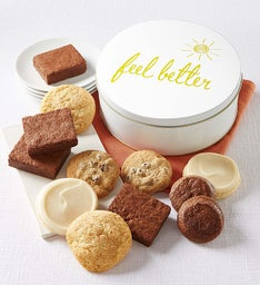 Get well gifts cookie gifts for a speedy recovery gluten free get well gift tin negle Image collections