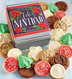 Create Your Own - Feliz Navidad Gift Tin