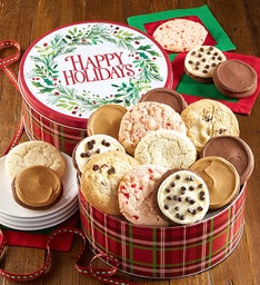 Happy Holiday Gift Tin Create Your Own Assortment
