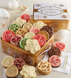Celebrate the Season Gift Tin Frosted Cookie Assortment