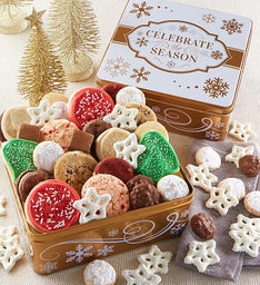 Celebrate the Season Gift Tin Treats Assortment