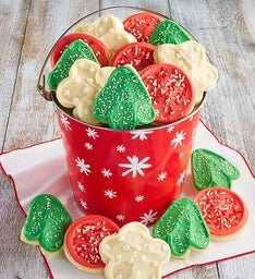 Snowflake Cookie Gift Pail