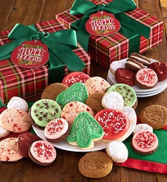 Exclusive Happy Holidays Treats Gift Boxes