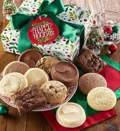 Sugar Free Happy Holiday Cookie & Brownie Gift Boxes