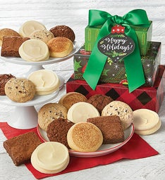 Gluten free cookies and brownies cheryls gluten free happy holidays gift tower negle Choice Image