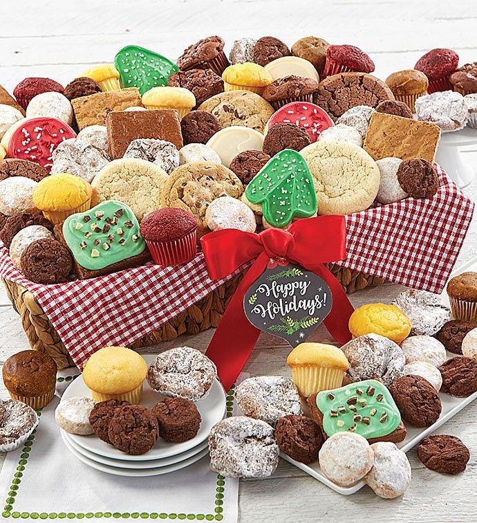 Cheryls cookie baskets cookies treats gift baskets cheryls holiday classic gift basket negle Choice Image